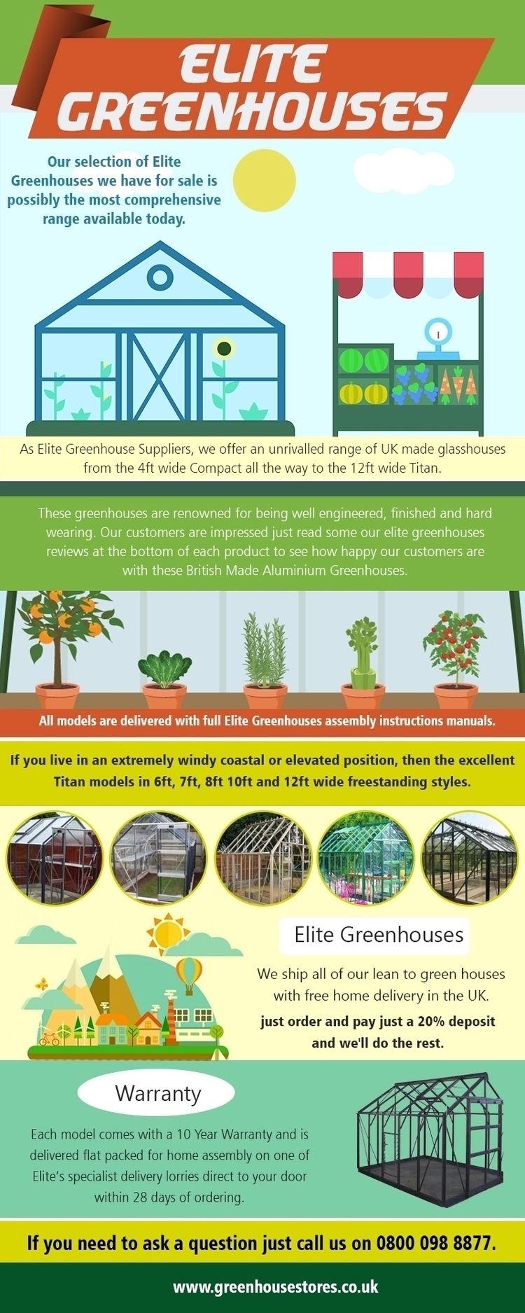 Elite Greenhouses Purchase Edge - cheapplasticsheds | ello
