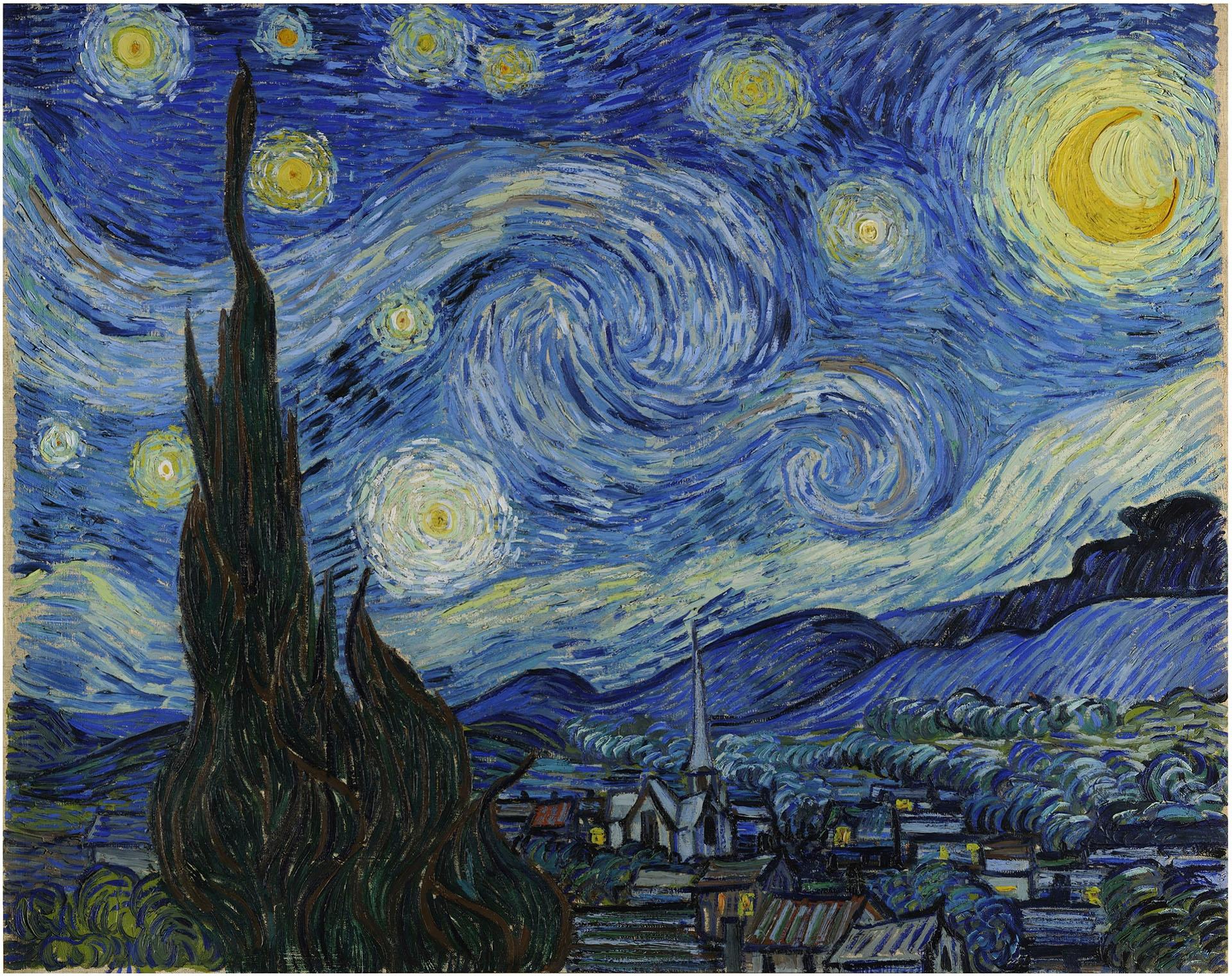 Obraz przedstawia dzieło znanego artysty namalowane w technice farb olejnych.
