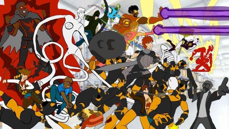 superheroes drew - tgkafg | ello