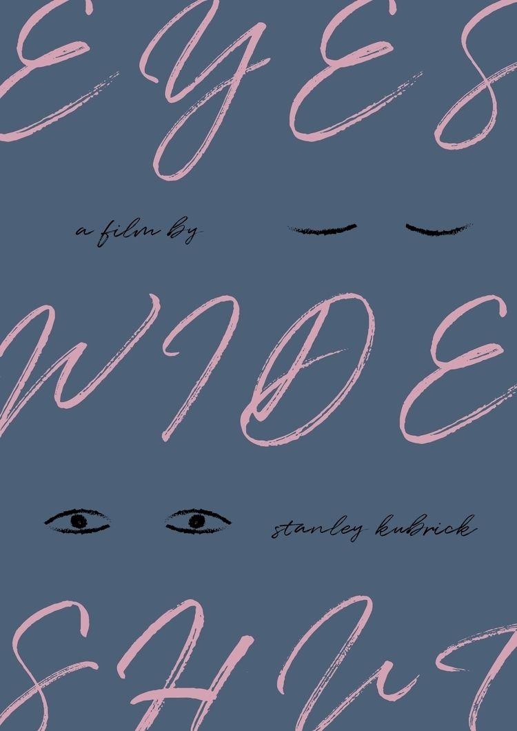 Film poster Eyes Wide Shut (199 - sarahschrauwen | ello