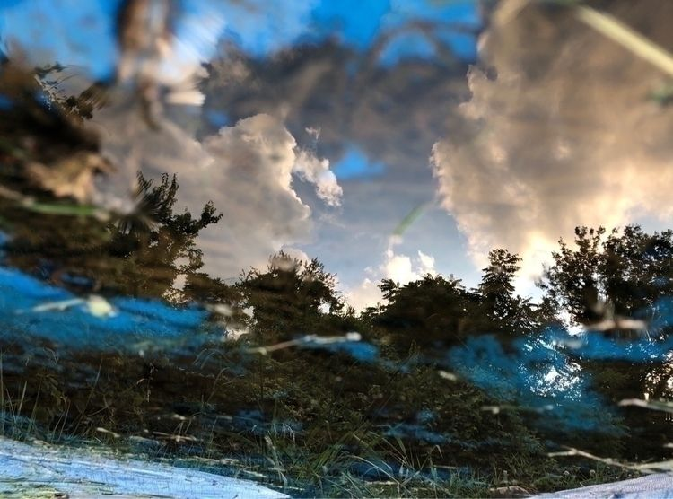 Sky, Reflection, OriginalContent - onceanartifact | ello