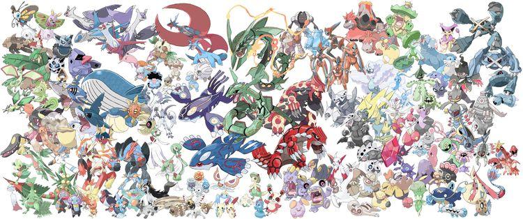 Megas abound! primal Pokemon, i - torathor   ello