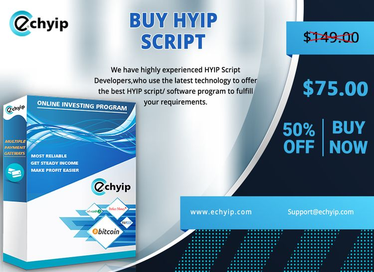 Buy HYIP Script Price investmen - gracysharma   ello