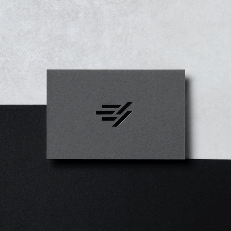 Symbol business card designed E - davidcercos | ello