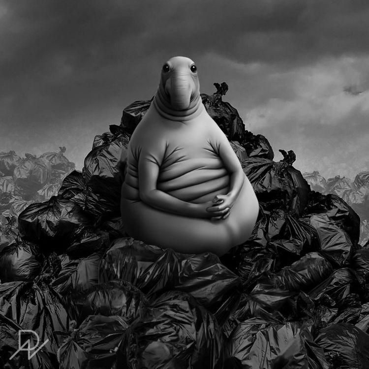 garbage, design, ecology, future - artecoobj | ello