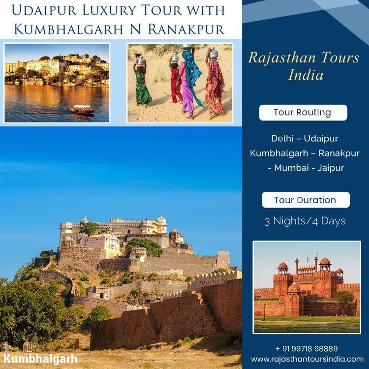 Book Udaipur Luxury Tour Kumbha - rajasthantoursindia | ello