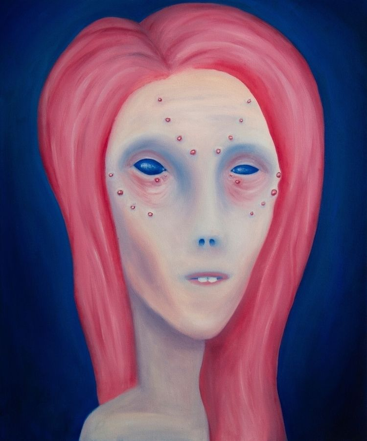 mica oil painting - art, oilpainting - marlonmessal | ello