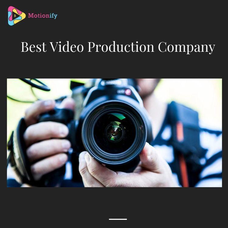 Video Production Company Motion - motionify | ello