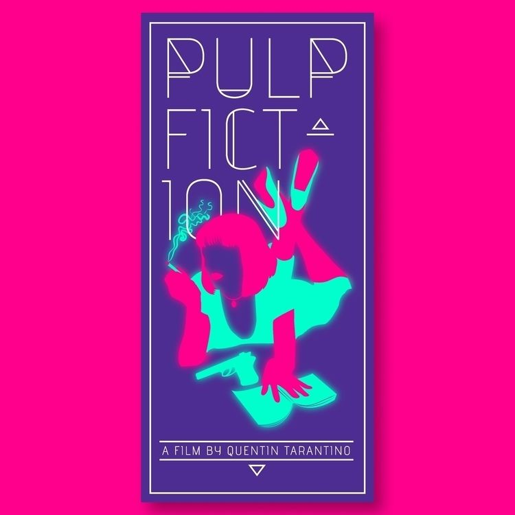 Movie Poster: Pulp Fiction icon - thecommas | ello