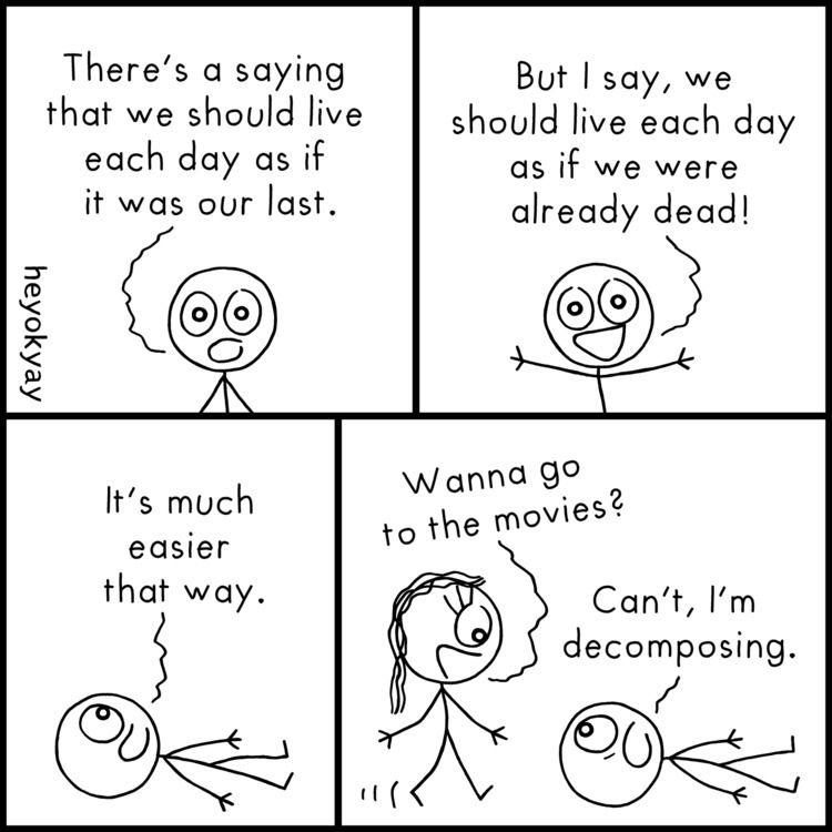Philosophy Life | - comics, humour - heyokyay | ello