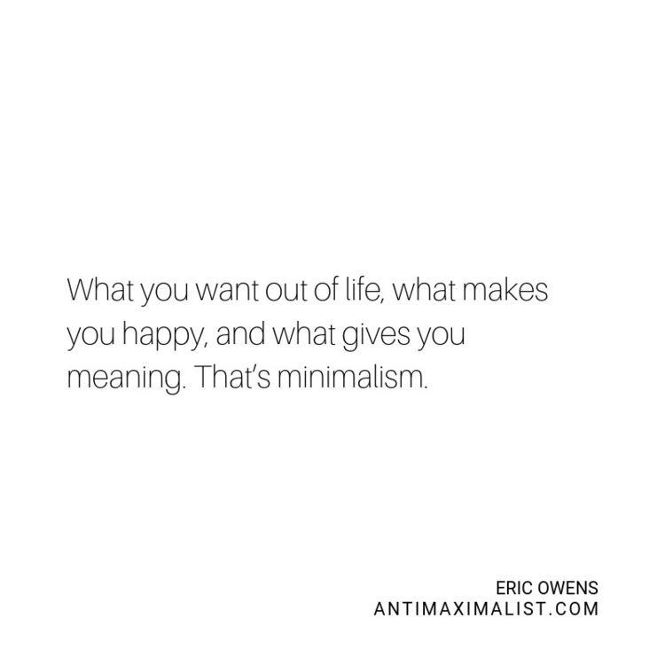 Blog Post Minimalism Materialis - antimaximalist | ello