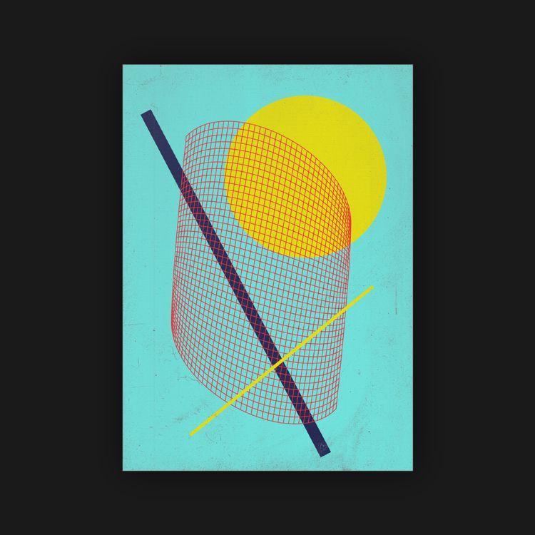 pretty shapes stuff  - poster, posterdesign - rottwang   ello