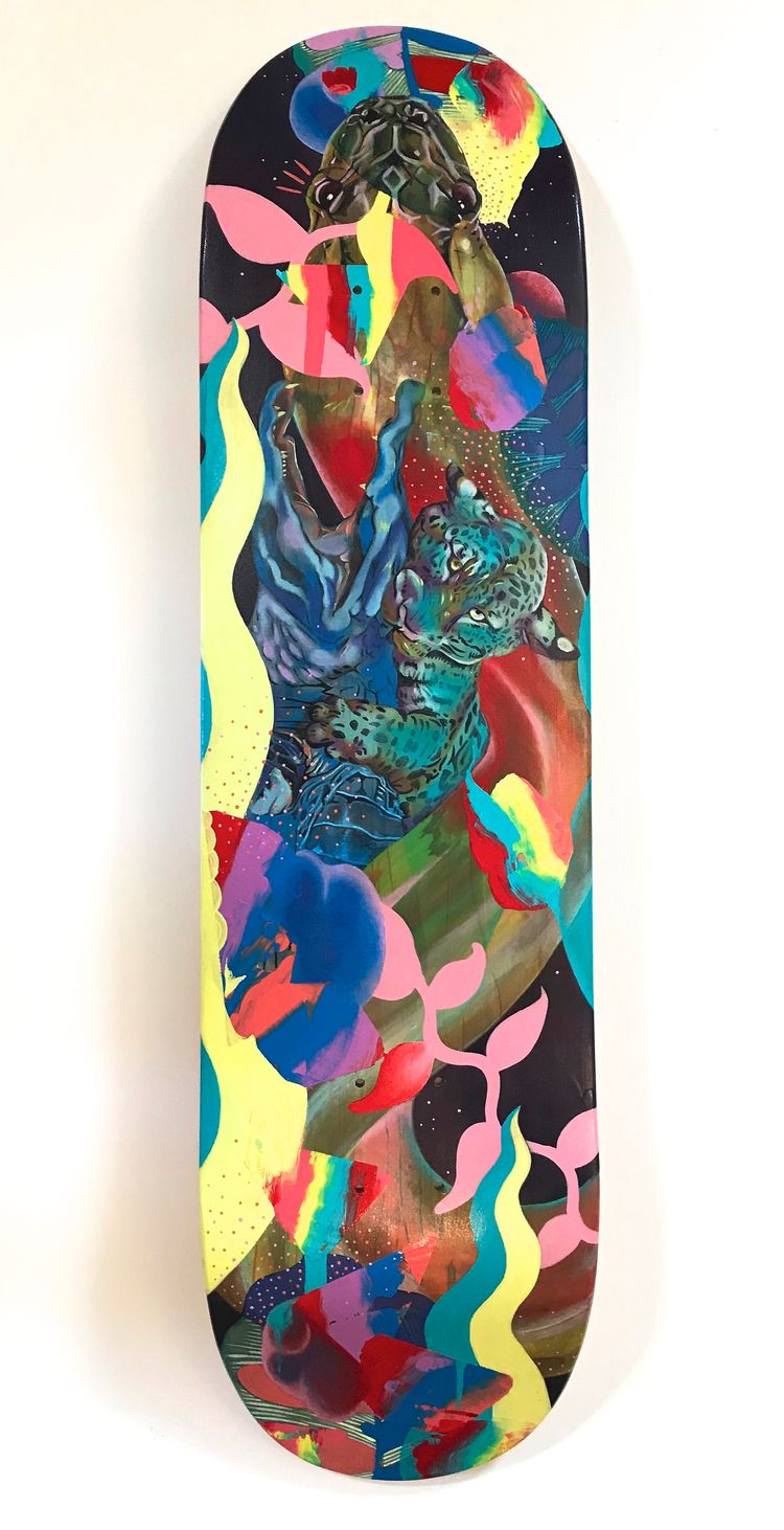 Perdition, Acrylic Skate deck,  - gritangelarts | ello
