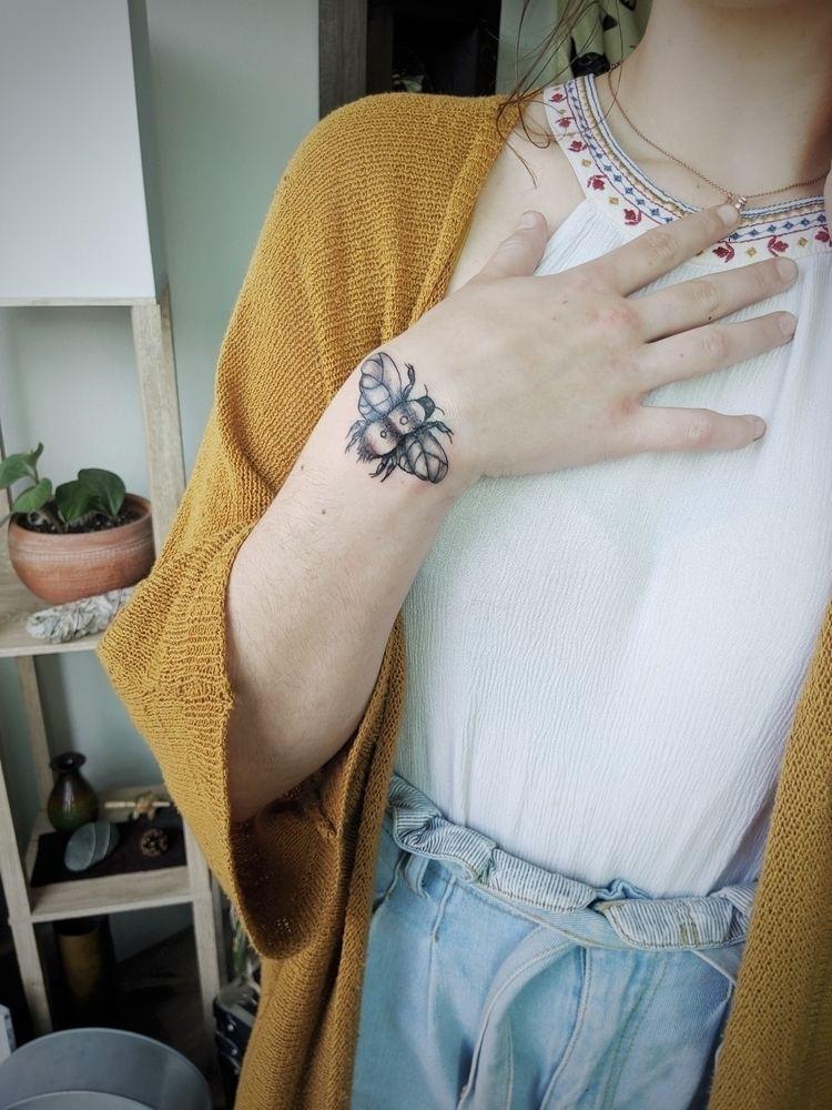 black grey tattoo, coworker. 20 - the_artrat | ello