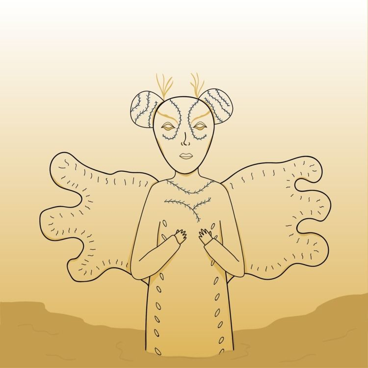 Björk Quicksand Ilustración/Ilu - tocino | ello