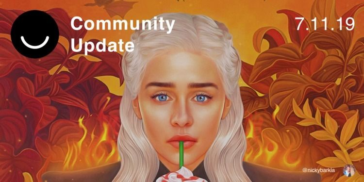 Community Update 7/11/2019 week - elloblog | ello