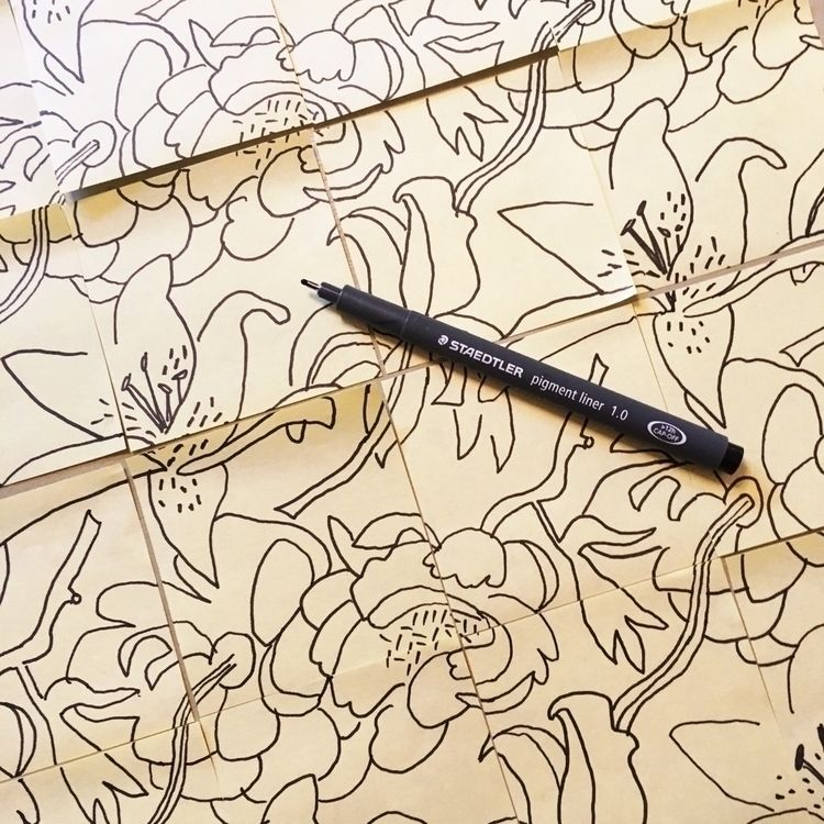 pattern shape growing hands - ellopatterns - kateengland | ello