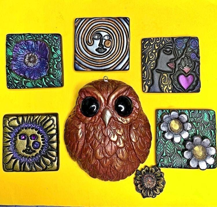 Magnets owl pendant - eesascreations | ello