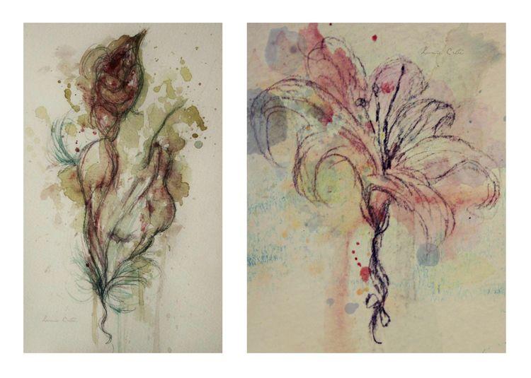 mixedmedia, illustration, painting - loomie | ello