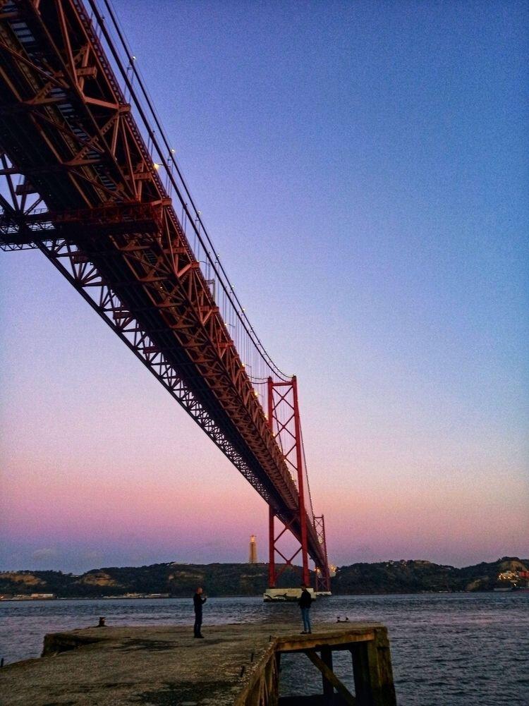 Lisbon Colors - bridge, photographyoftheday - olliveirageane | ello