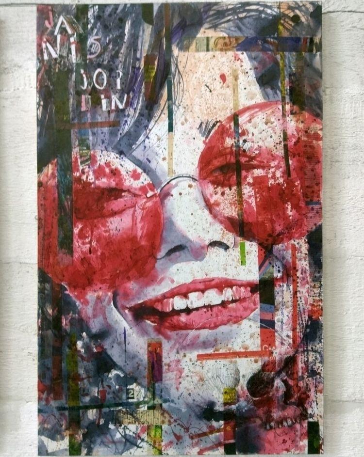 Janis Joplin / 75x50 series bro - petrulenkov | ello