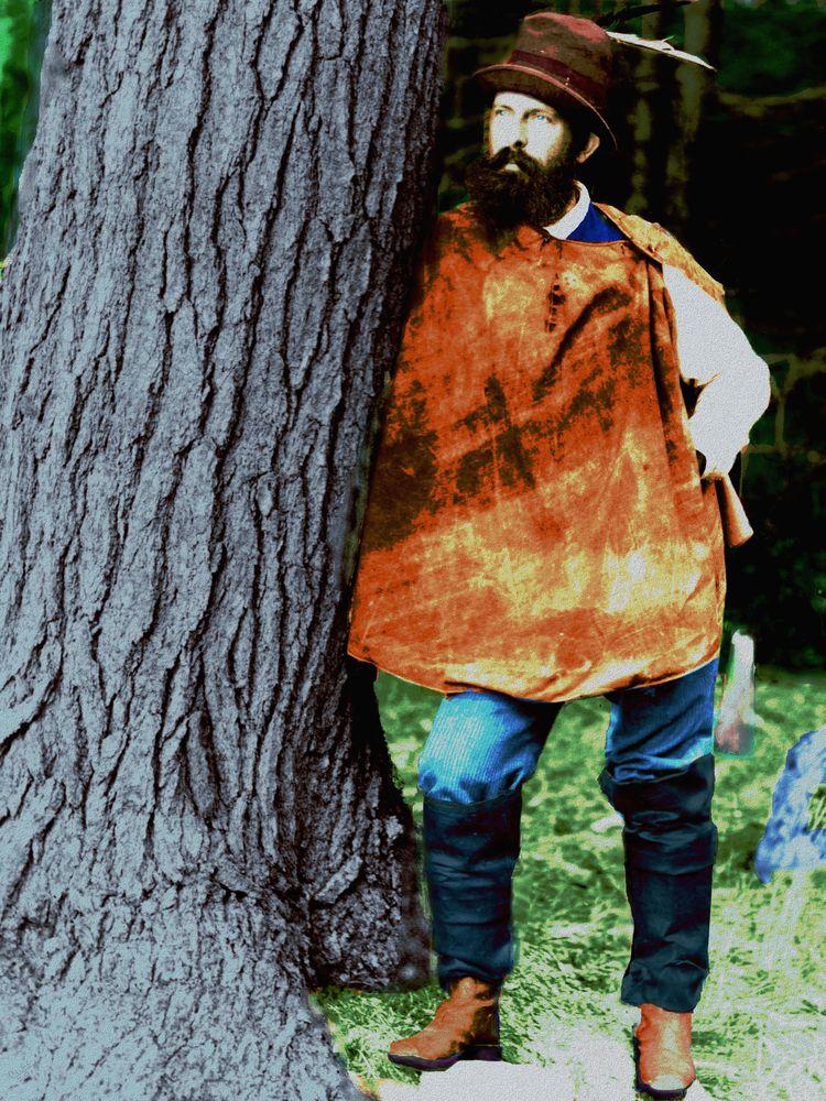 Woodsman - woods today, good id - cliffwilson | ello