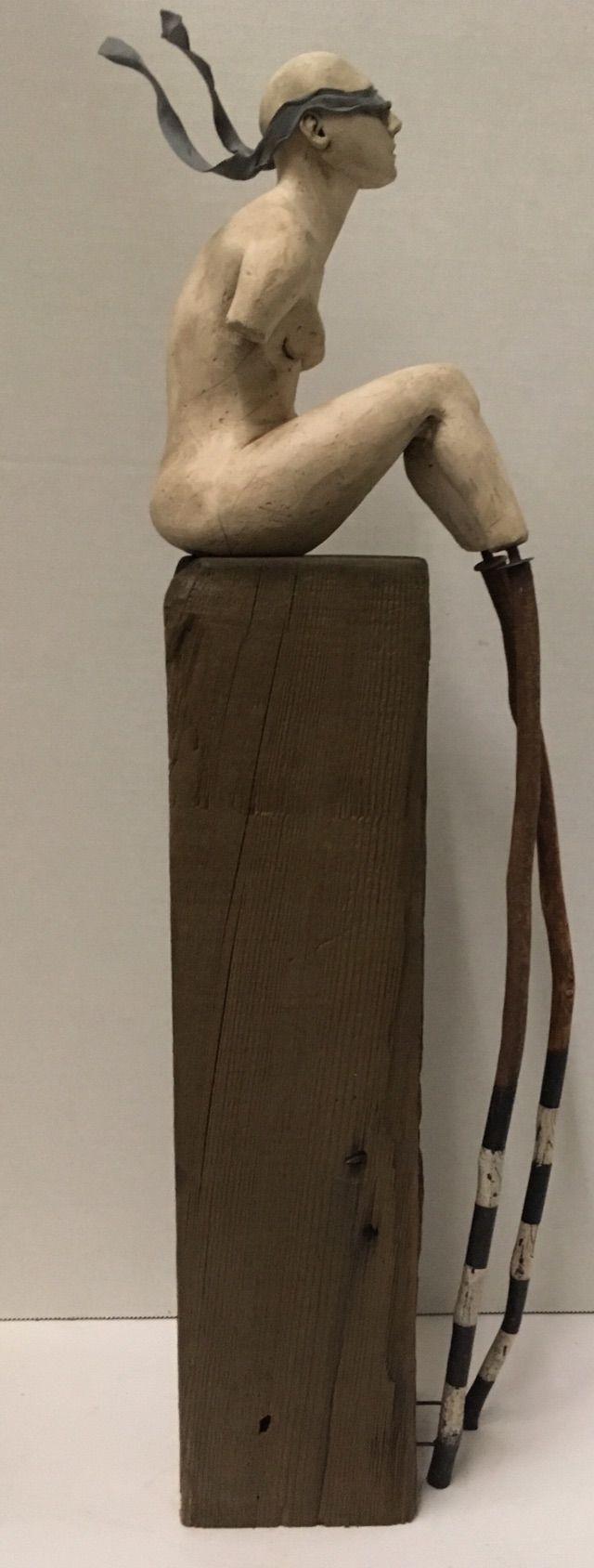 edge wip, ceramic,wood, epoxy - art - catherinechambers | ello