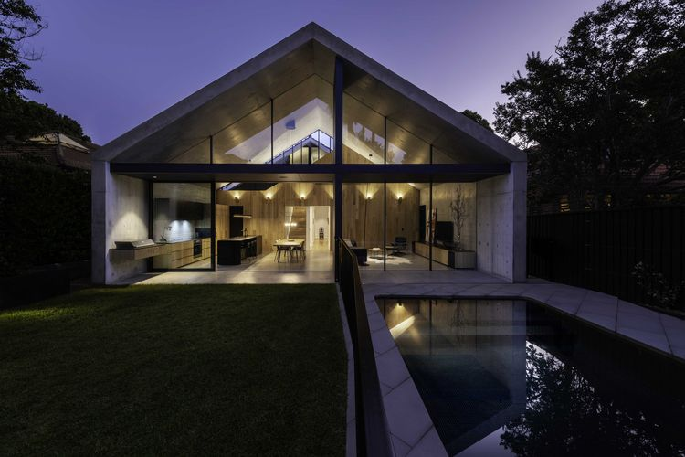 Extruded House MCK Architecture - thetreemag | ello