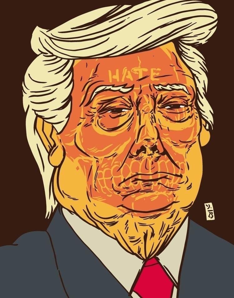 45s Deep Hate - illustrator, illustration - thomcat23 | ello