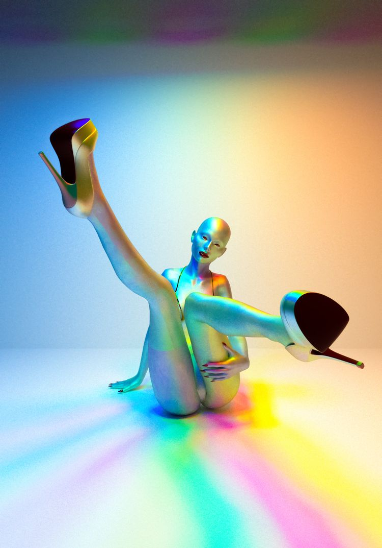 Spectrum  - Art, 3Dart, Cinema4D - mathudesign   ello