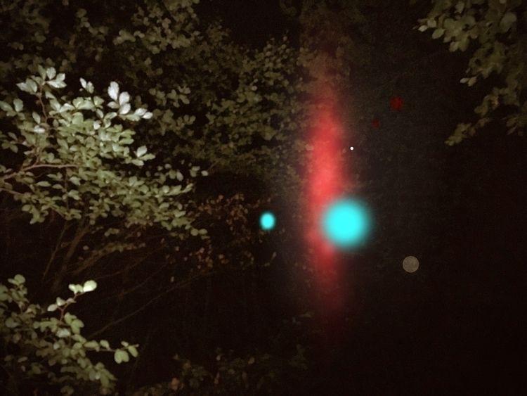 Transience. [Photo night hike S - miafazecas | ello
