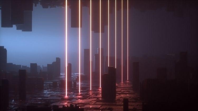 Preliminary Sci-Fi Landscapes.  - aaaronkaufman | ello