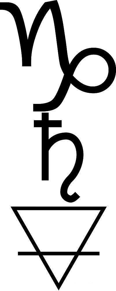 Capricorn, Saturn, Earth, Element - kristalgraceharm | ello