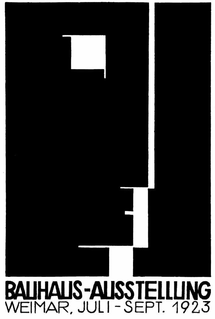 Bauhaus 1923 Weimer Exhibition  - sectorone | ello