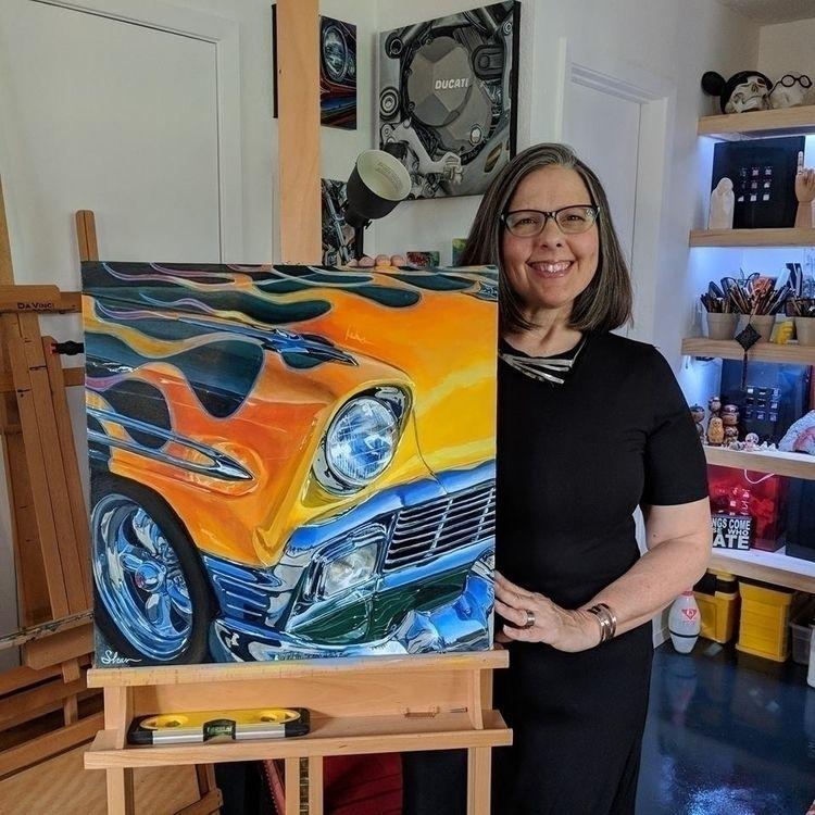 studio newest painting: 1956 Fl - shanfannin | ello
