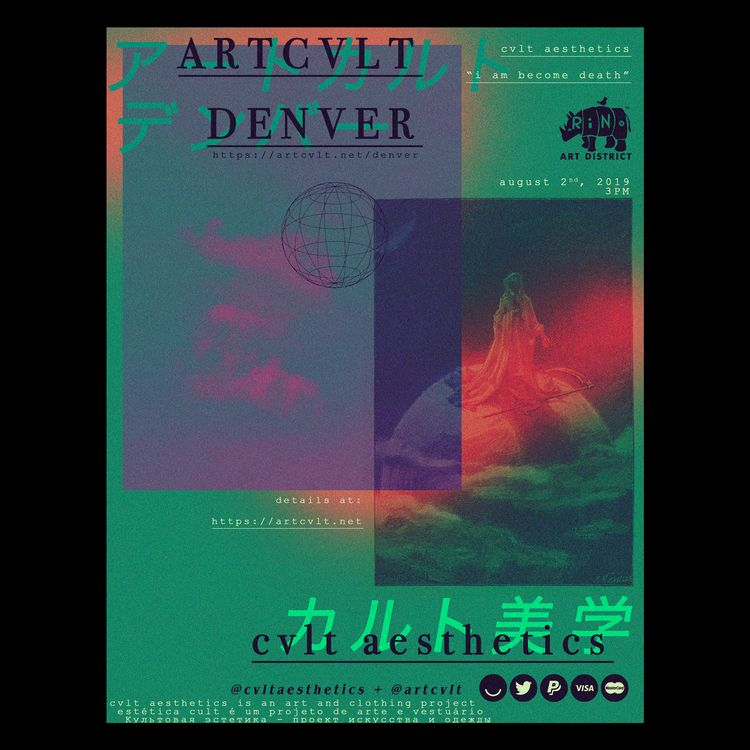 join friday august 2nd denver,  - artcvlt | ello