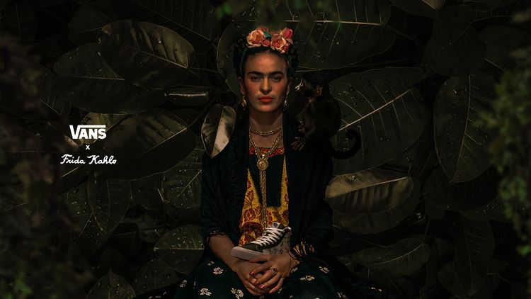 Advertisment: Vans Vault Frida  - paugith   ello