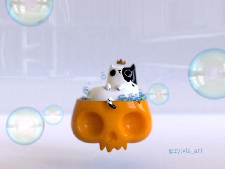 KING KITTY original concept - zylvia_art | ello
