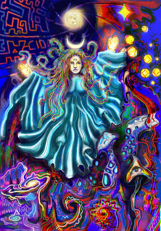Luna (colored version 23 - astarte23 | ello