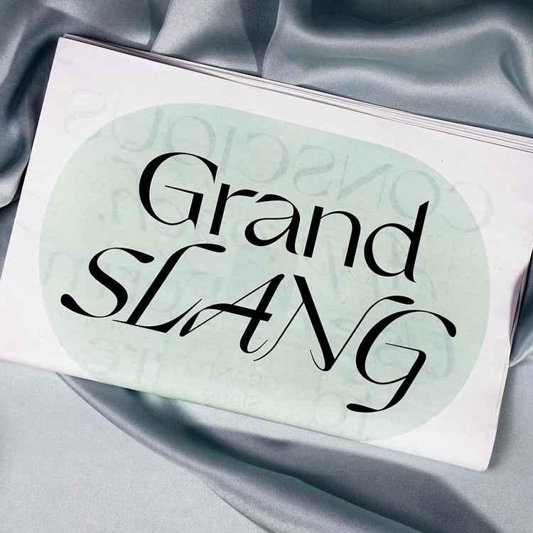 Nikolas Type: Grand Slang