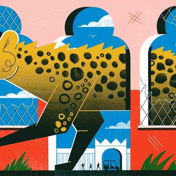 Illustrator Michael Driver