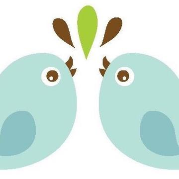 Two Blue Birdies