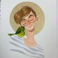 Kim Peterson (@kimmikart) Avatar