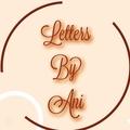 Ani. M (@lettersbyani) Avatar