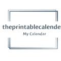 The Printable Calender (@theprintablecalender) Avatar