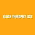 Black Therapist List (@blacktherapist) Avatar
