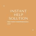 instanthelpsolution (@instanthelpsolutionusa) Avatar