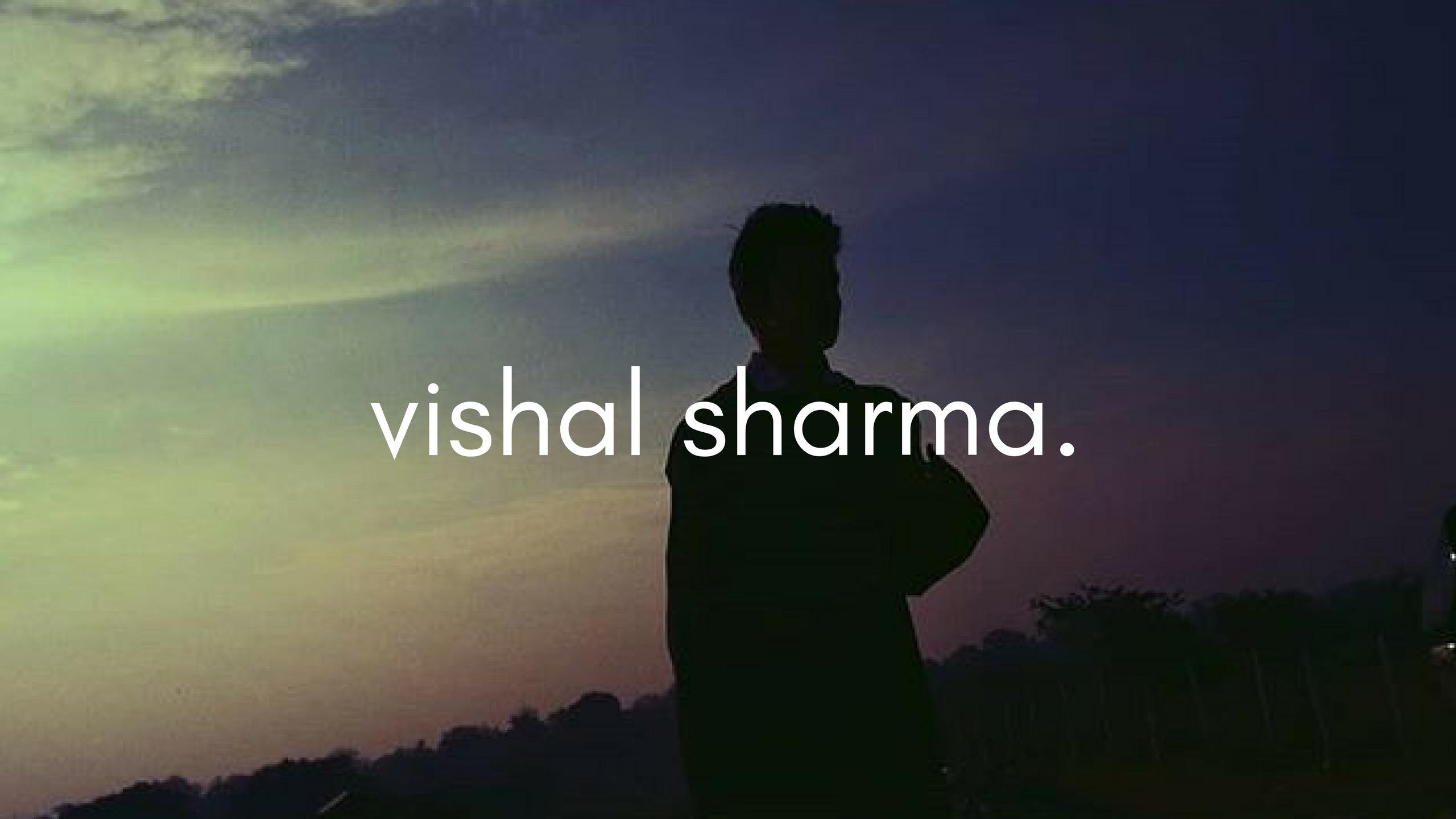 Vishal Sharma (@thevishalsharma) Cover Image