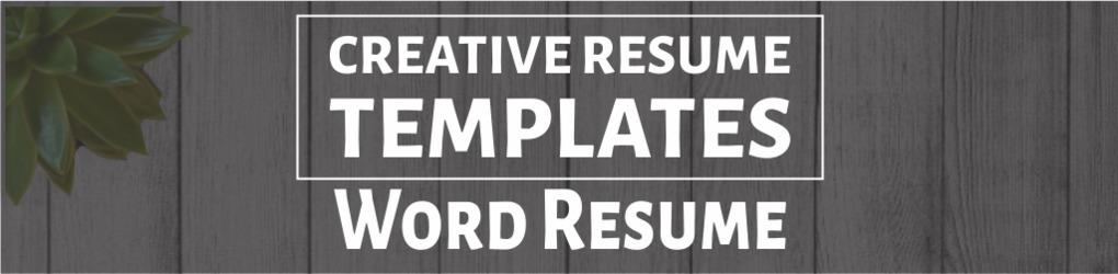 Creative Resume Templates (@jugoslav85) Cover Image