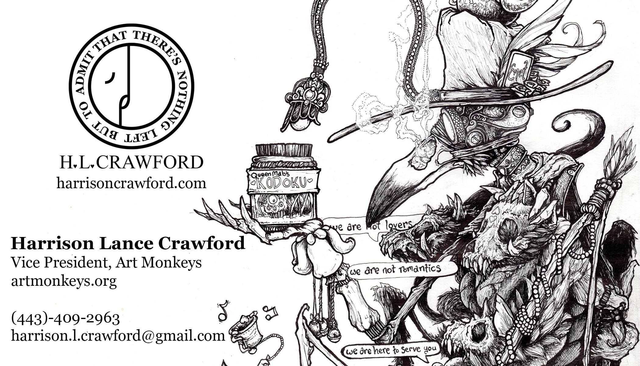 Harrison Lance Crawford (@yourownkaishakunin) Cover Image